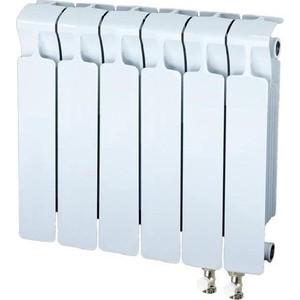 цена на Радиатор отопления RIFAR MONOLIT VENTIL 350 6 секций биметаллический нижнее правое подключение (RM35006НП50)