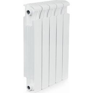 Радиатор отопления RIFAR MONOLIT 500 5 секций биметаллический боковое подключение (RM50005) биметаллический радиатор rifar monolit 500 5 сек