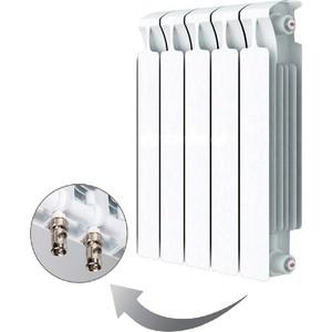 Радиатор отопления RIFAR MONOLIT VENTIL 500 5 секций биметаллический нижнее правое подключение (RM50005НП50)