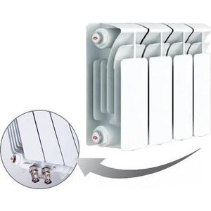 Радиатор отопления RIFAR BASE VENTIL 200 4 секции биметаллический нижнее правое подключение (R20004 НПП)