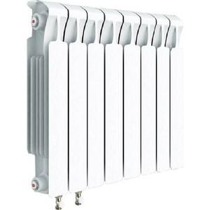 Радиатор отопления RIFAR MONOLIT VENTIL 500 8 секций биметаллический нижнее левое подключение (RM50008НЛ50) фото