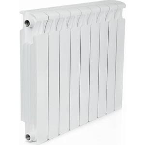 Радиатор отопления RIFAR MONOLIT 500 9 секций биметаллический боковое подключение (RM50009) радиатор отопления биметаллический bilit 500 100 9 секц