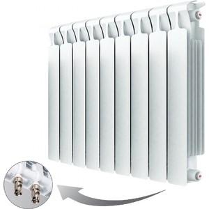 цена на Радиатор отопления RIFAR MONOLIT VENTIL 500 9 секций биметаллический нижнее правое подключение (RM50009НП50)