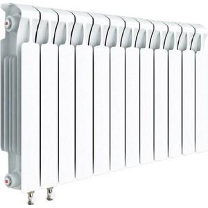 цена на Радиатор отопления RIFAR MONOLIT VENTIL 500 12 секций биметаллический нижнее левое подключение (RM50012НЛ50)