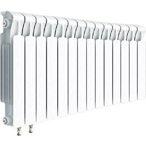 Радиатор отопления RIFAR MONOLIT VENTIL 500 14 секций биметаллический нижнее левое подключение (RM50014НЛ50) стоимость
