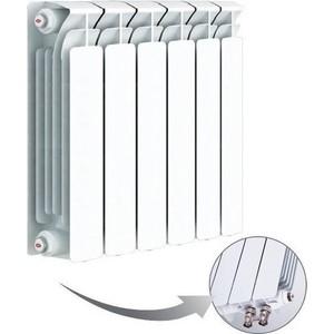 Радиатор отопления RIFAR BASE VENTIL 500 6 секций биметаллический нижнее левое подключение (R50006 НПЛ)