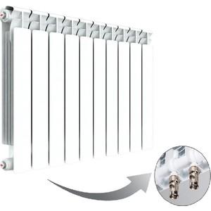 Радиатор отопления RIFAR BASE VENTIL 500 10 секций биметаллический нижнее левое подключение (R50010 НПЛ) evolution evb500 500 10 секций
