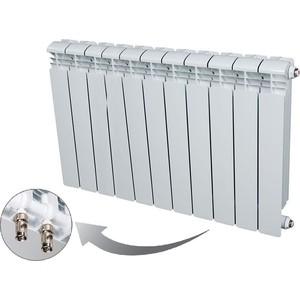Радиатор отопления RIFAR BASE VENTIL 500 11 секций биметаллический нижнее правое подключение (R50011 НПП)