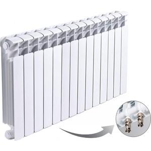 цена на Радиатор отопления RIFAR BASE VENTIL 500 14 секций биметаллический нижнее левое подключение (R50014 НПЛ)