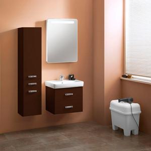 Мебель для ванной Акватон Америна 60 темно-коричневая тумба под раковину акватон америна 60 темно коричневая