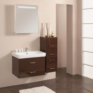 Мебель для ванной Акватон Америна 70 темно-коричневая для ванной акватон