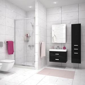 Мебель для ванной Акватон Америна 70 черная мебель для ванной комнаты акватон официальный сайт