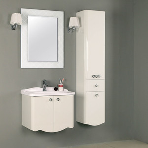Мебель для ванной Акватон Венеция 65 белая светильник акватон венеция 3009 m oro золото плафон красный 1ax014svxx000