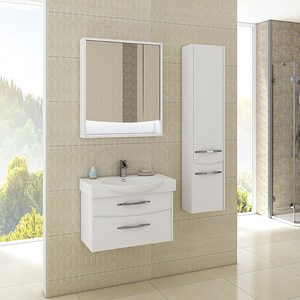 Мебель для ванной Акватон Инфинити 65 белый глянец