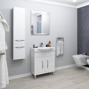Мебель для ванной Акватон Инфинити 65 Н белый глянец