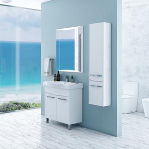Мебель для ванной Акватон Инфинити 76 Н белый глянец