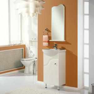 Мебель для ванной Акватон Колибри 45 левая, белая мебель для ванной акватон эклипс 46 м левая эбони светлый