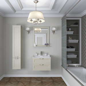 Мебель для ванной Акватон Леон 65 дуб бежевый
