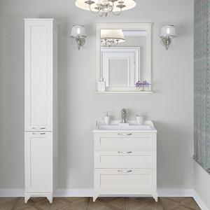 Мебель для ванной Акватон Леон 65 Н дуб белый цена и фото
