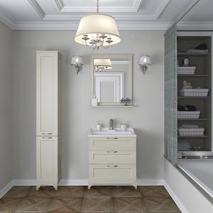 Мебель для ванной Акватон Леон 65 Н дуб бежевый цена и фото