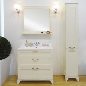 Мебель для ванной Акватон Леон 80 Н дуб бежевый