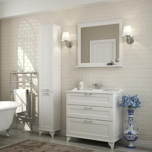 Мебель для ванной Акватон Леон 80 Н дуб белый
