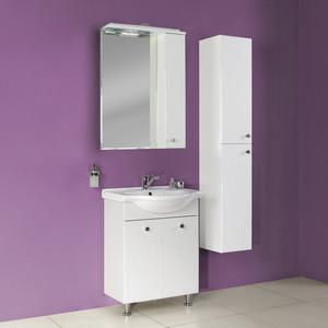 Мебель для ванной Акватон Лиана 65 белая зеркало с полкой акватон акватон лиана 65