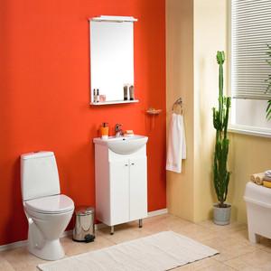цена на Мебель для ванной Акватон Мира Н 45 белая