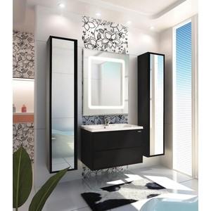 Мебель для ванной Акватон Римини 80 чёрный глянец