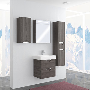 Мебель для ванной Акватон Сильва 60 дуб макиато мебель для ванной комнаты акватон официальный сайт