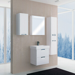 Мебель для ванной Акватон Сильва 60 дуб полярный мебель для ванной комнаты акватон официальный сайт