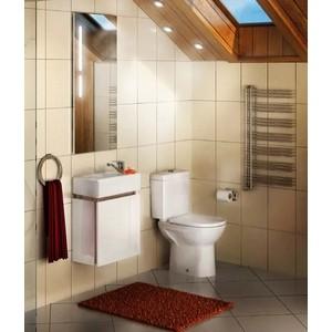 Мебель для ванной Акватон Эклипс 46 М левая, эбони светлый мебель для ванной акватон эклипс 46 м левая эбони светлый