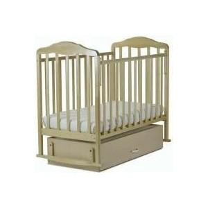цена на Кровать детская СКВ Компани поперечный и продольный маятник ящик берёза снежная 126005-5/6005