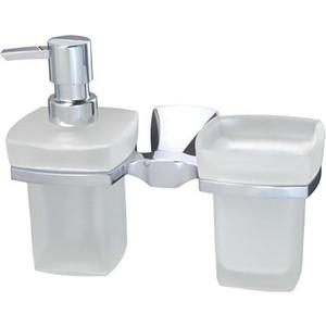 Дозатор для жидкого мыла Wasserkraft Wern K-2589 со стаканом