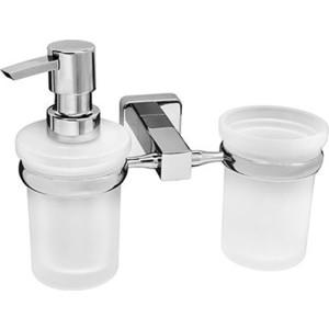 Дозатор для жидкого мыла Wasserkraft Lippe K-6589 со стаканом