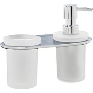 Дозатор для жидкого мыла Wasserkraft Kammel K-8389 со стаканом