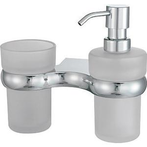 Дозатор для жидкого мыла Wasserkraft Berkel K-6800 со стаканом (K-6889)
