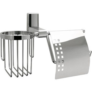 Держатель туалетной бумаги и освежителя Wasserkraft Leine K-5059 цена