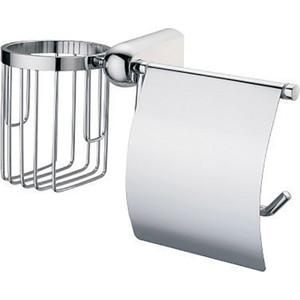 Держатель туалетной бумаги и освежителя Wasserkraft Berkel K-6859 с крышкой держатель туалетной бумаги и освежителя wasserkraft wern k 2559 с крышкой