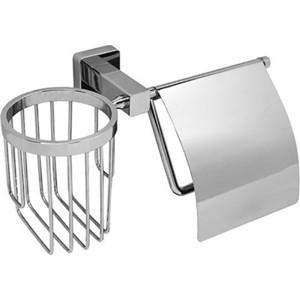 Держатель туалетной бумаги и освежителя Wasserkraft Lippe K-6559 с крышкой держатель туалетной бумаги и освежителя wasserkraft wern k 2559 с крышкой