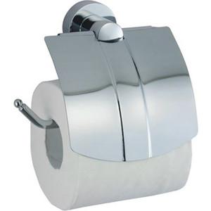 Держатель туалетной бумаги Wasserkraft Donau K-9400 с крышкой (K-9425) держатель запасного рулона wasserkraft donau k 9400 k 9497
