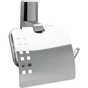Держатель туалетной бумаги Wasserkraft Leine K-5025 с крышкой держатель wasserkraft k 5096white leine