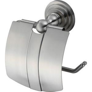 Держатель туалетной бумаги Wasserkraft Ammer K-7000 хром матовый, с крышкой (K-7025)
