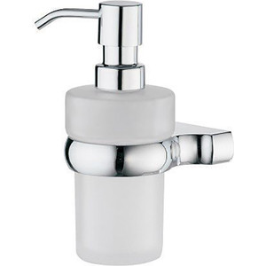 Дозатор для жидкого мыла Wasserkraft Berkel K-6899 стекло матовое