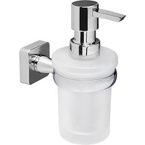цена на Дозатор для жидкого мыла Wasserkraft Lippe K-6500 стекло матовое, 170 ml (K-6599)
