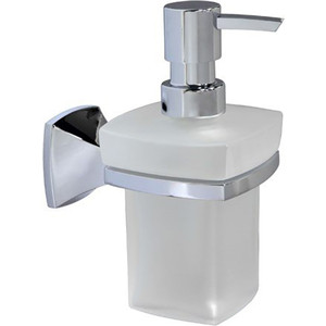 Дозатор для жидкого мыла Wasserkraft Wern K-2599 стекло матовое мыльница wasserkraft wern k 2529 хром матовое стекло