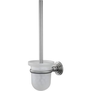 Ершик для унитаза Wasserkraft Ammer K-7027 стекло матовое