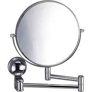 Зеркало косметическое Wasserkraft K-1000 настенное, двухсторонее, 3-х кратное увеличение