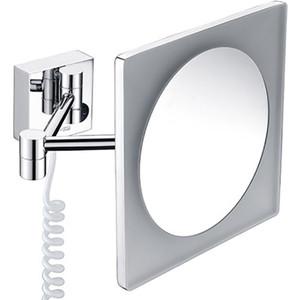 Зеркало косметическое Wasserkraft K-1008 с подсветкой, 3-х кратное увеличение зеркало с led подсветкой wasserkraft k 1007 9061824