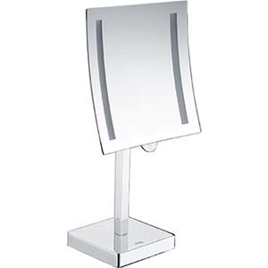 Зеркало косметическое Wasserkraft K-1007 с подсветкой, 3-х кратное увеличение зеркало с led подсветкой wasserkraft k 1007 9061824